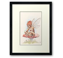 I'm Not Talking to You Framed Print