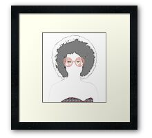 Psychedelic Babe Framed Print