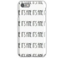 It's Fine Apparel iPhone Case/Skin