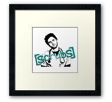 Scrubs JD Framed Print