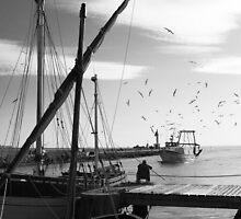 Fishers - Grau du Roi - 2009 by Nicolas Perriault
