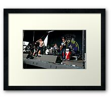 The Story So Far - Warped Tour 2014 Framed Print