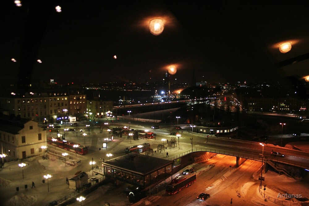 Capture from tower window (Stockholm, Sweden) by Antanas