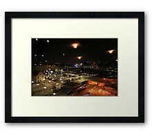 Capture from tower window (Stockholm, Sweden) Framed Print