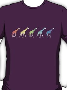 Giraffe Crossing T-Shirt