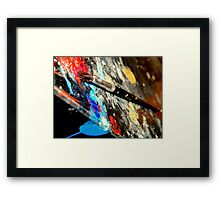 Colors yell out loud! Framed Print