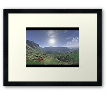 Humble Valley: REALISTIC SCENE # 2 Framed Print