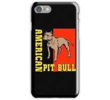 AMERICAN PIT BULL-2 iPhone Case/Skin
