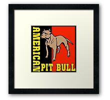 AMERICAN PIT BULL-2 Framed Print