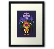 Majora's Forest Framed Print