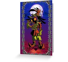 Majora's Mask - Skull Kid Card Greeting Card