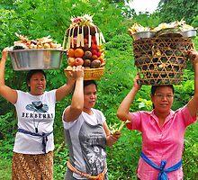 People of Bali 2 by Adri  Padmos