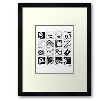 Shaping Language Framed Print