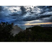 Storm Clouds In The Bay Photographic Print