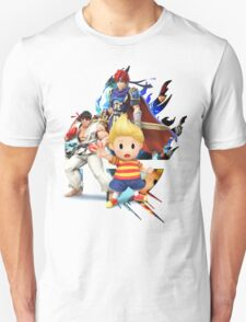 Lucas, Roy, Ryu, Super Smash Bros. 3DS/Wii U T-Shirt