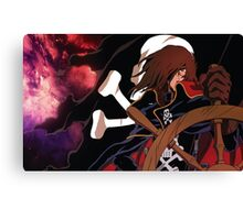 To the infinity with Harlock! Canvas Print