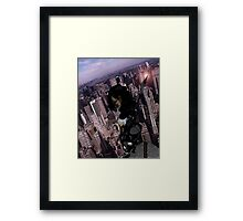 Sentinel of the city Framed Print