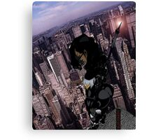 Sentinel of the city Canvas Print