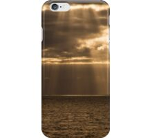 The golden rain iPhone Case/Skin