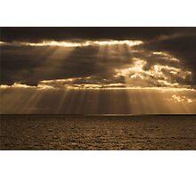 The golden rain Photographic Print