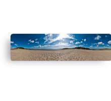 Newborough Beach 360 Panorama Canvas Print