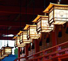 Kyoto - Fushimi Inari Taisha by DarvidArt