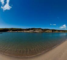 Aberffraw Beach Panorama by ASBO-Allstar