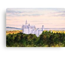 Neuschwanstein Castle Bavaria Germany Canvas Print