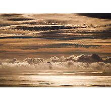 Cremebrulle sky Photographic Print