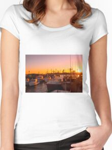 Safe In Stonington Women's Fitted Scoop T-Shirt