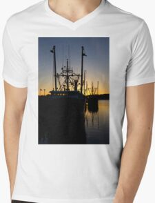 Safe Harbor Mens V-Neck T-Shirt