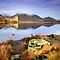 Scotland: Kilchurn Castle , Loch Awe by Angie Latham