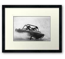 Jet Boats ~ Western Australia Framed Print