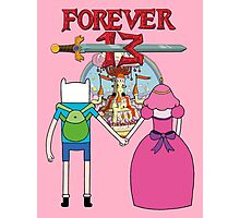 Forever 13 - Adventure Time Photographic Print