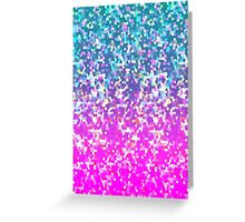 Glitter Graphic Greeting Card