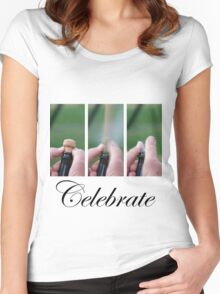 Let's celebrate Women's Fitted Scoop T-Shirt