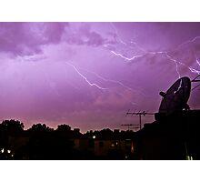 Angry Sky Photographic Print