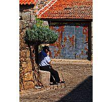 lavander sunshade, Idanha-a-Nova, Beira Baixa, Portugal Photographic Print