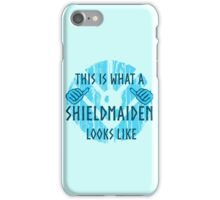 this is what a shieldmaiden looks like #2 iPhone Case/Skin