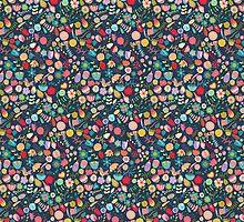 Vintage Floral Pattern/Background by kennasato