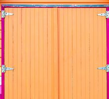 Architectural detail of beach hut by Stanciuc