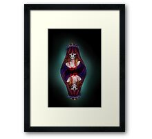 The Queen of Spades Framed Print