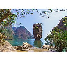 Khao Phing Kan Photographic Print