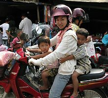 The Family Vehicle - Cambodian Style by Trishy