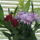 A spring bouquet to brighten the house! by anaisnais