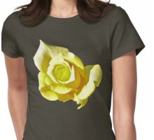 Lemon & Lime Rose Womens Fitted T-Shirt