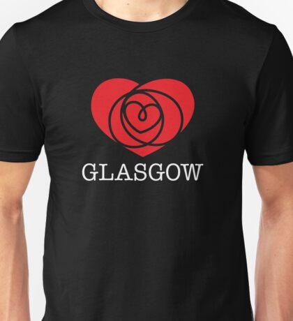 I Heart Glasgow, Scotland Unisex T-Shirt