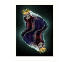The King of Spades Art Print