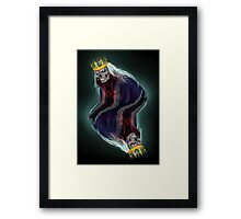 The King of Spades Framed Print
