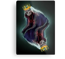 The King of Spades Metal Print